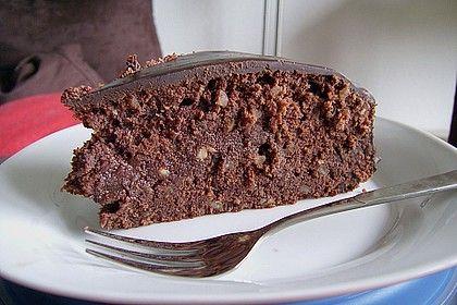 Schokoladen – Marzipan – Kuchen