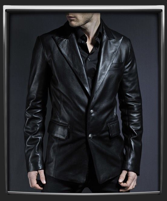 Vampire leather blazer