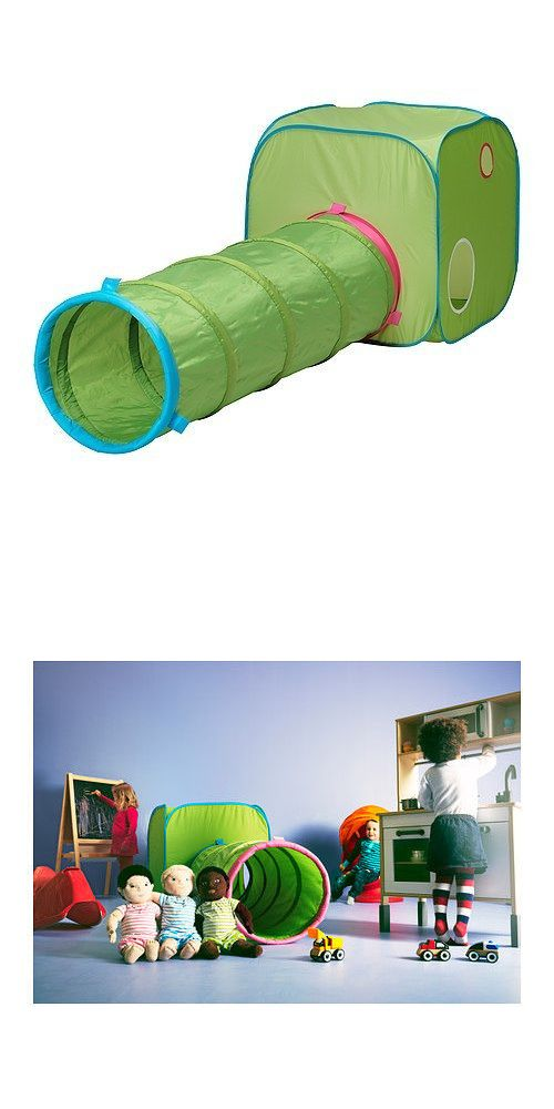 Tunnels 145998 Ikea Busa Play Tunnel Kids Toy Pop Up Tent + Tunnel Green Baby Developmental -u003e BUY IT NOW ONLY $33.99 on #eBay #tunnels #tunnel #green # ...  sc 1 st  Pinterest & Tunnels 145998: Ikea Busa Play Tunnel Kids Toy Pop Up Tent + Tunnel ...