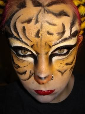 117 best Animal face painting images on Pinterest | Halloween ...