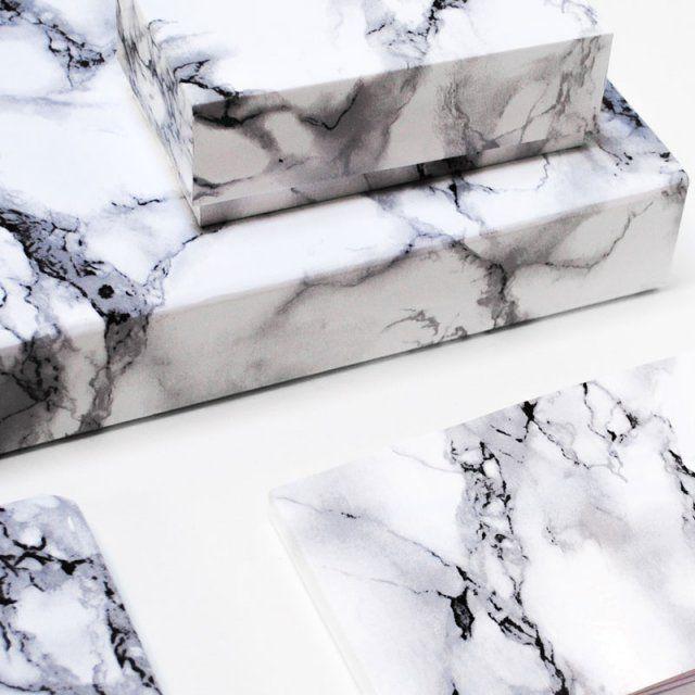 Boites marbre / DIY marbre / Marble