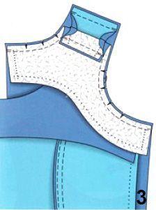 Обработка горловины и пройм изделия обтачкой   pokroyka.ru-уроки кроя и шитья