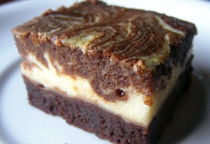 Márványos brownie Lúdanyótól recept képpel. Hozzávalók és az elkészítés részletes leírása. A márványos brownie lúdanyótól elkészítési ideje: 45 perc