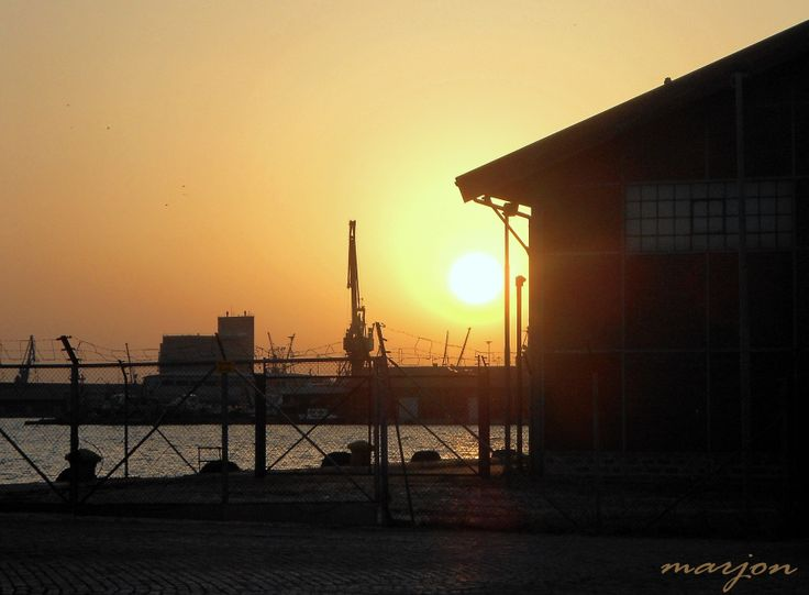 Limani-Thessaloniki sunset