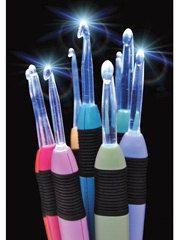 Crochet Lite Hook Light Up Mini Set Sizes C by kayscrochetpatterns