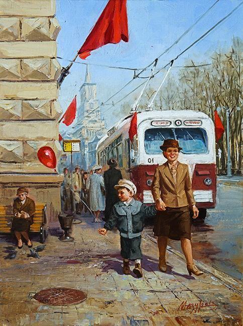Мазур Николай. Красный день календаря