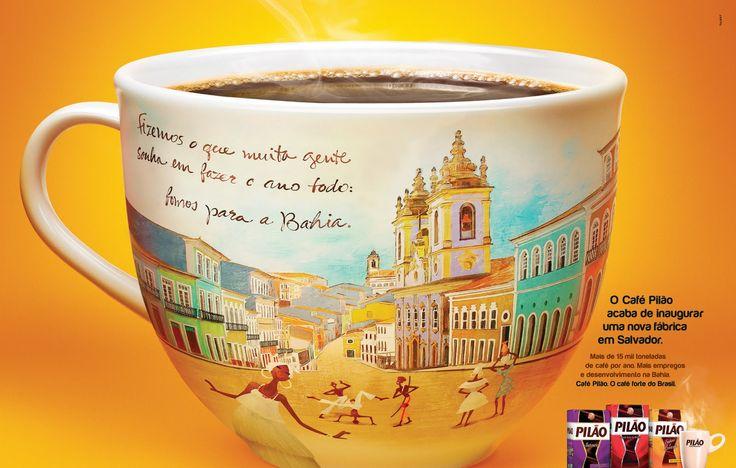 Ilustrações PedroJr: Café Pilão