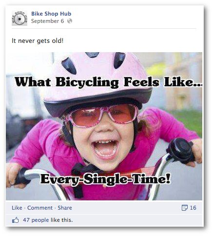 What Bicycling Feels Like. #cycling: