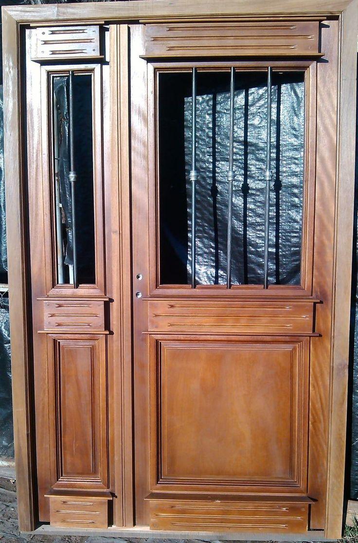puerta y media estilo antigua 130x205