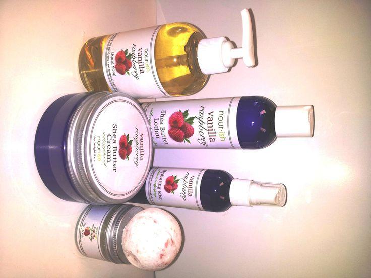 Vanilla Raspberry Gift Set 2 Yummy Scent