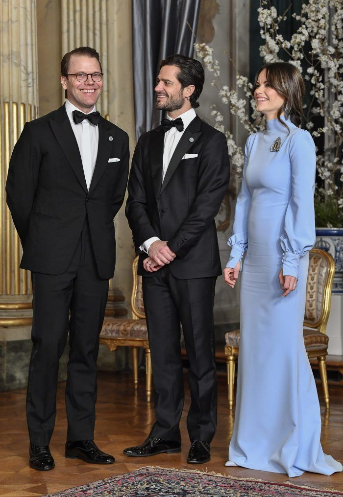14 March 2019 - The King and the Queen of Sweden host a gala