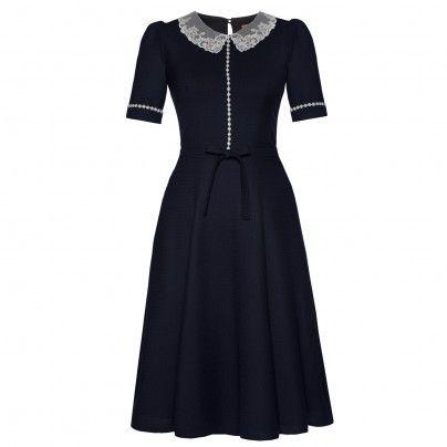 Miss Marple Dress midnight - Online Shop  - Lena Hoschek Online Shop