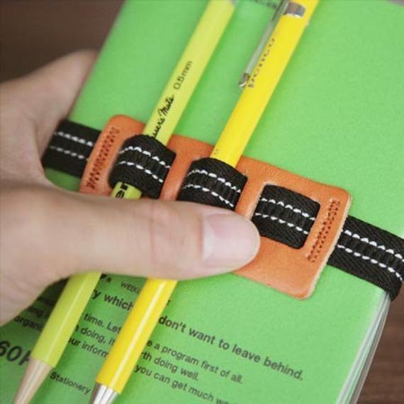 Planner Band with Pen Holder, Planner Pen Holder, Journal Pen Holder, Journal / Diary Band, Pen Band