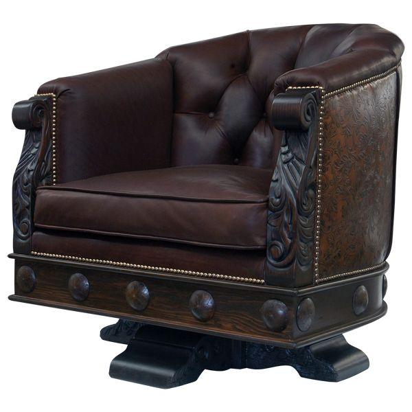 Elegante Horseshoe Chair Western Home Office Western