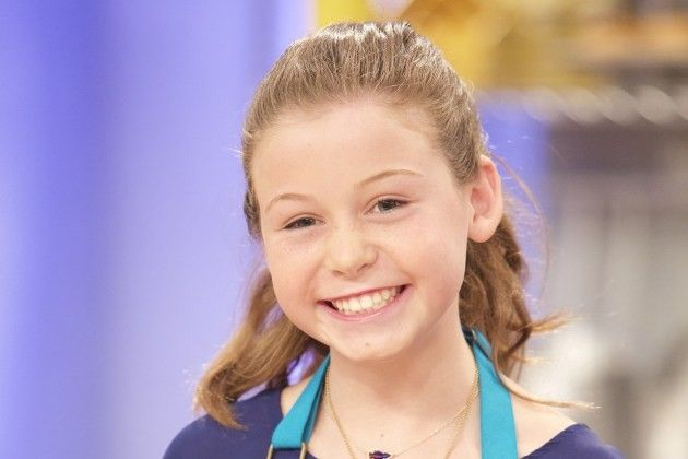Rebecca Beale on Kids Baking Championship