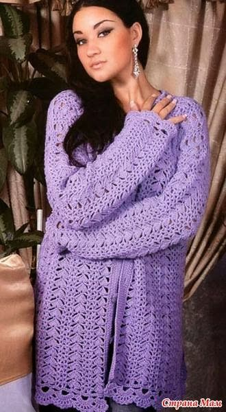 FREE PATTERN § 2 Crochet Charts for Spring Cardigans