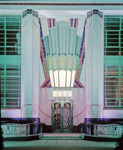 The Old Hoover building, London. This could be overdoing it a bit for an entrance way for my dream home, but it is pretty