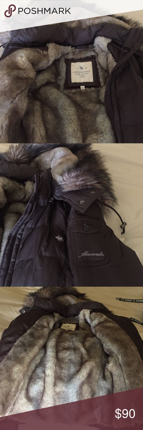 Abercrombie and Fitch jacket Very warm heavy duty jacket. Amazing condition Abercrombie & Fitch Jackets & Coats
