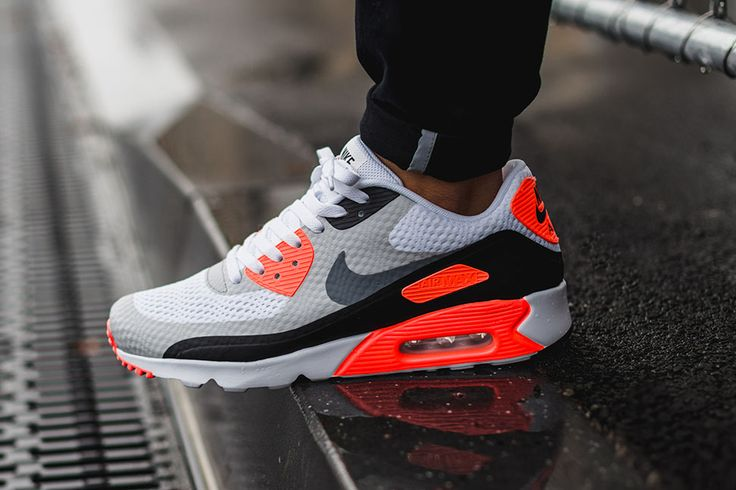 Nike Air Max 90 Premium EM White Red Black