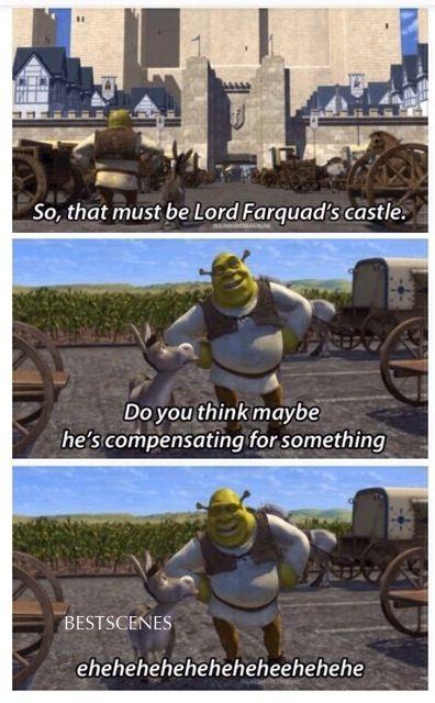 Shrek: I never understood growing up but now I do!