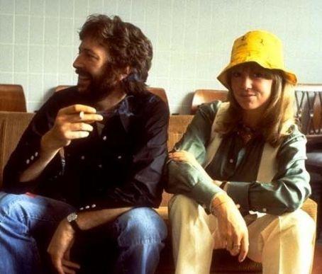 Eric Clapton with Patti Boyd