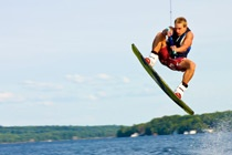 Wakeboarding at Muskoka Woods