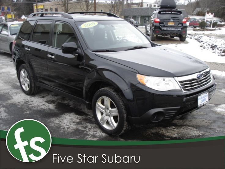 Used 2009 Subaru Forester 2.5X Premium Moonroof and Alloy Wheels For Sale | Oneonta NY |