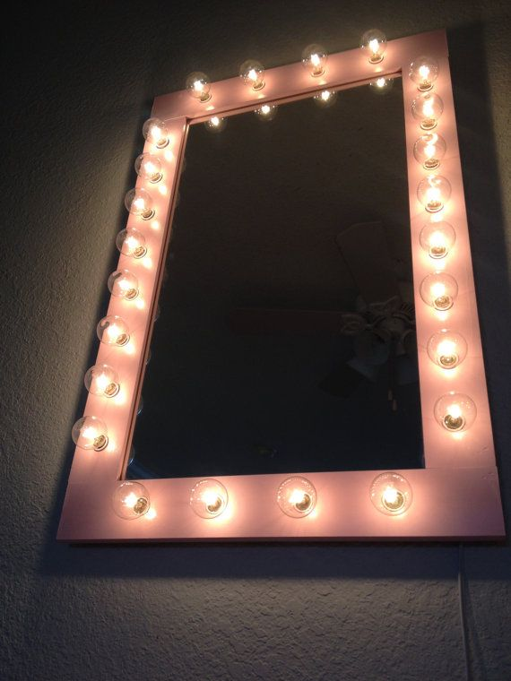 Vanity Light Up Mirror : Custom lit