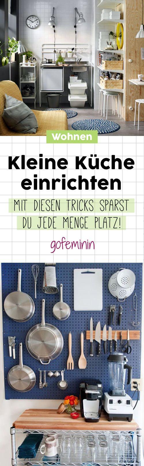 Kleine Küche einrichten: Die besten Tricks um Platz zu sparen