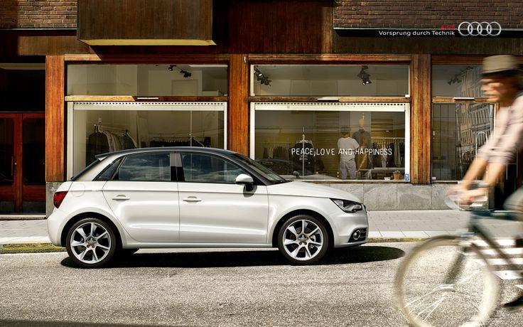 #AudiA1 #Sportback #Audi #peace #love #happiness