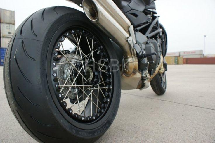 Kineo Ducati Single Sided Tubeless Spoke Wheels Moto