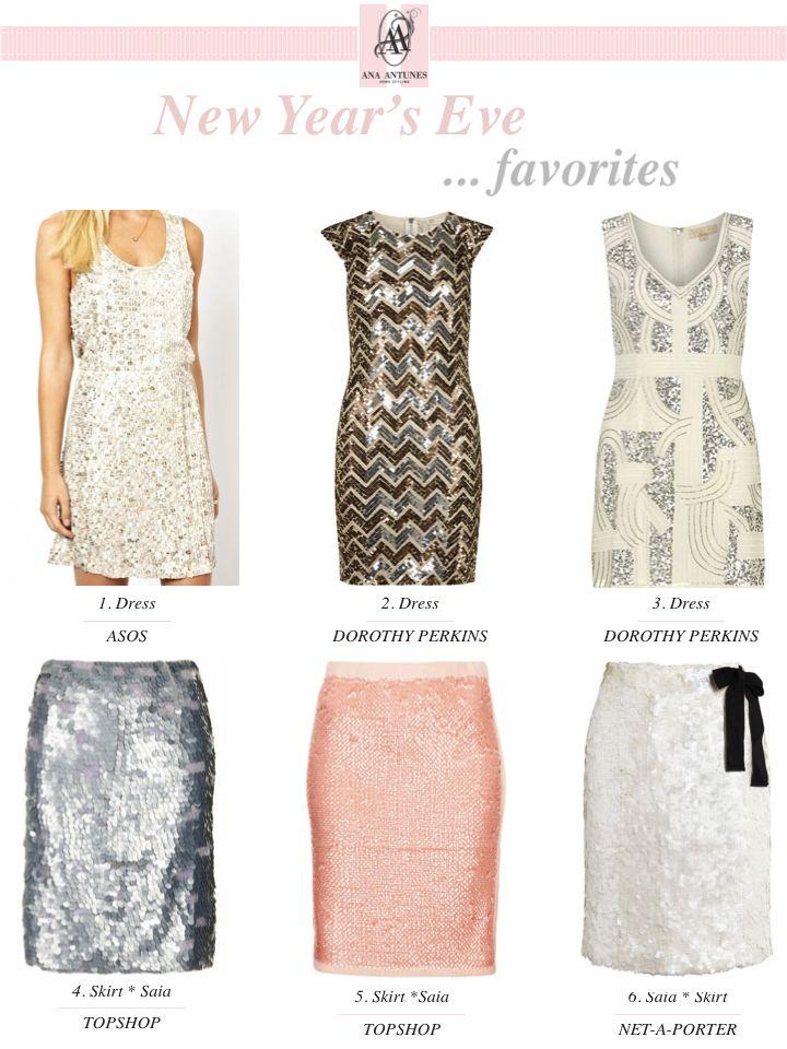 New Year's Eve Favorites * Favoritos Para o Fim-de-Ano