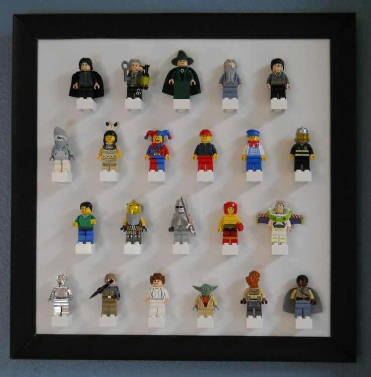 Another great idea for LEGO Minifigures display.