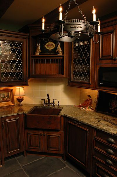 Project Spotlight Basement Remodel Features An Authentic English Amazing Kitchen Remodel Design Inspiration