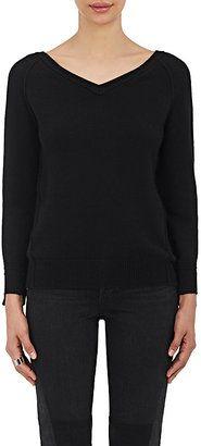 Shop Now - >  https://api.shopstyle.com/action/apiVisitRetailer?id=638385408&pid=uid6996-25233114-59 Helmut Lang Women's Cashmere V-Neck Sweater  ...