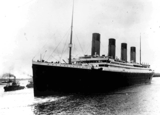 100 year anniversary of the Titanic catastrophe... this photo taken April 10, 1912 as the liner departs Southampton, England.