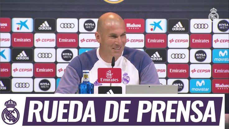 Youtube Zidane en la rueda de prensa previa al partido de Liga frente al Alavés