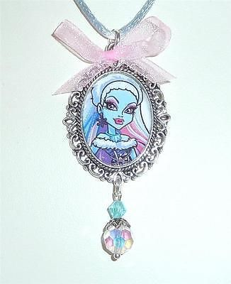 Monster High Abbey Bominable Doll Girls Necklace 13 Wishes  matching    Monster High Dolls 13 Wishes Abbey