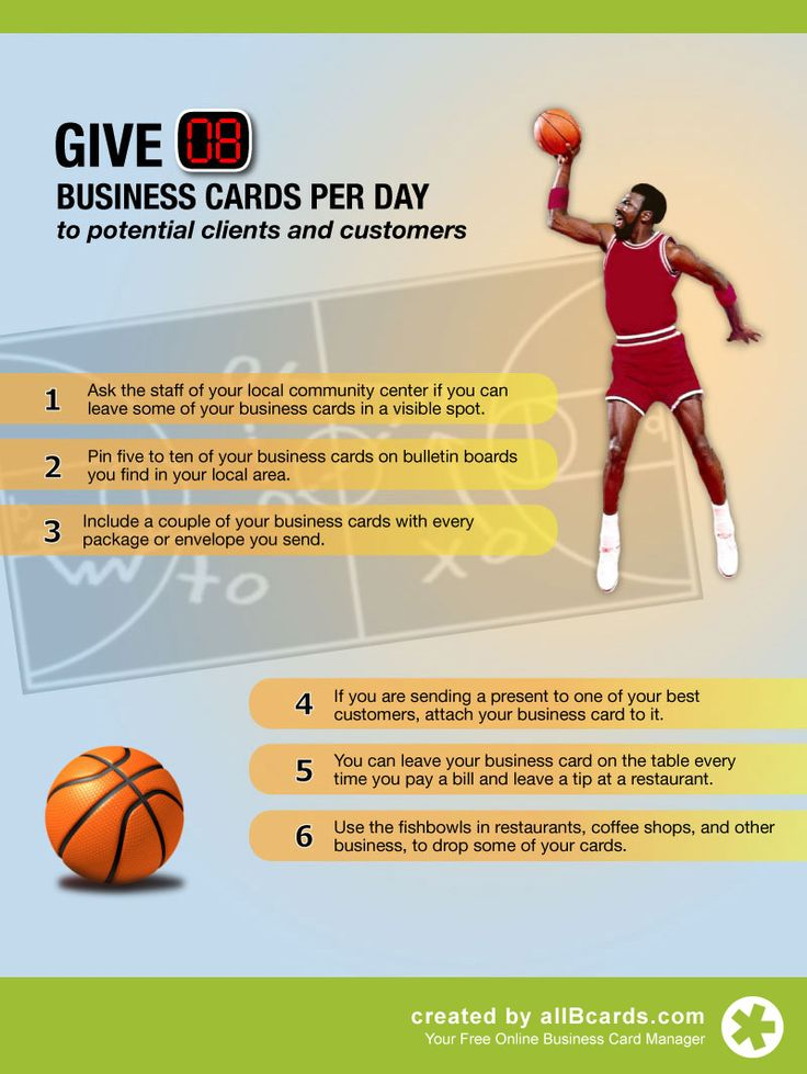 31 best Business Card & Networking Tips images on Pinterest ...