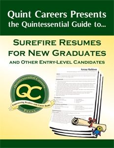 12 best career ink images on pinterest resume tips job search the quintessential guide to surefire resumes for new graduates and other entry level candidates cover letter spiritdancerdesigns Images