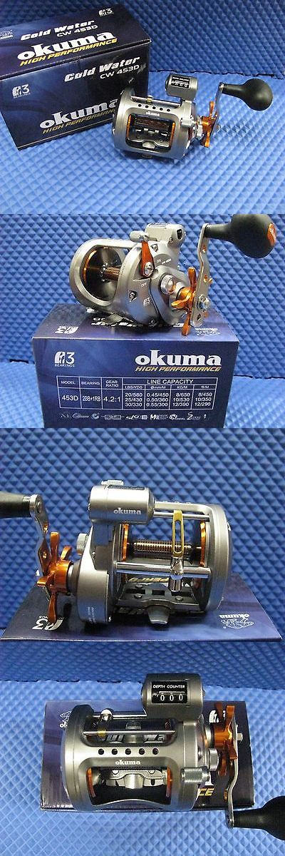 Other Fishing Reels 166159: Okuma Cold Water Trolling Reel With Line Counter Cw 453D BUY IT NOW ONLY: $99.0
