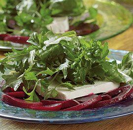 HERB, FETA AND BEET SALAD http://www.finecooking.com/recipes/herb_feta_beet_salad.aspx