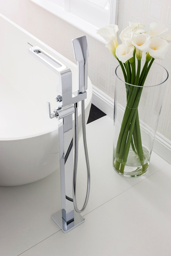 13 best Floor standing bath taps images on Pinterest | Bathroom ...