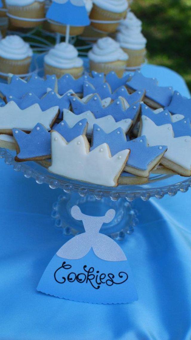 Cinderella party cookies