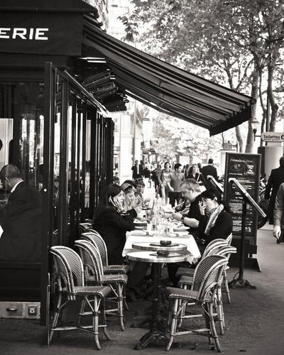Cafe De Versailles Paris Hemingway