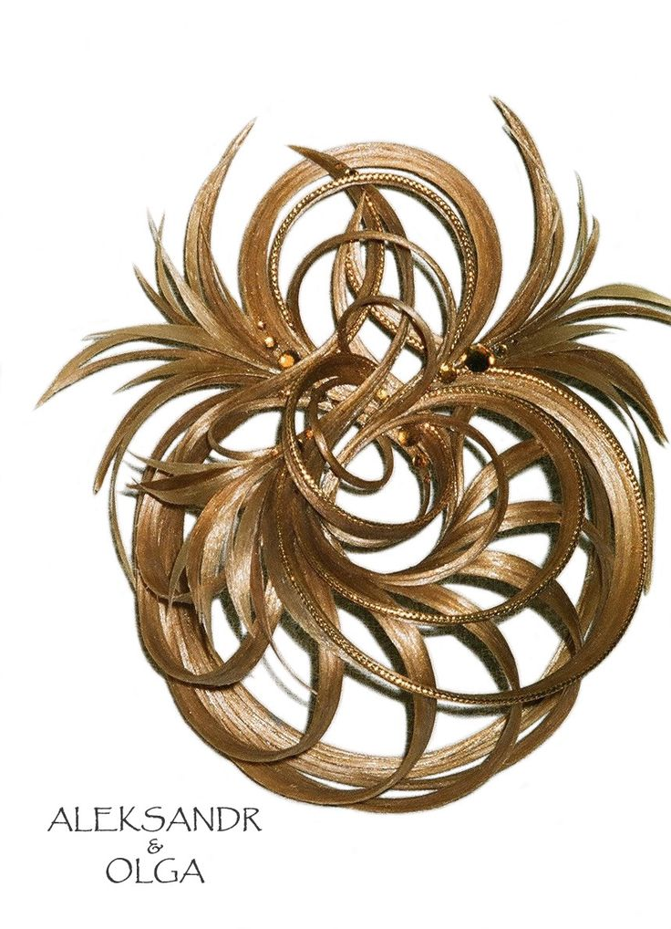 Украшение - ПУЧОК - постиж, золотистый блонд (ИЗ натуральных ВОЛОС) http://www.livemaster.ru/hair-jewellery http://www.aleksandr-and-olga.ru/