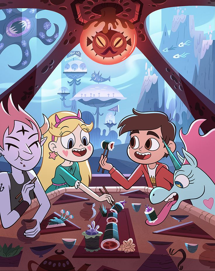"daronnefcy: ""Star vs the Forces of Evil official season 4 poster!!! Isn't it cute?! Also, don't miss the rest of season 3! New episodes start March 3rd! https://www.youtube.com/watch?v=huHWAN44JuU Its gonna be goooooood! """