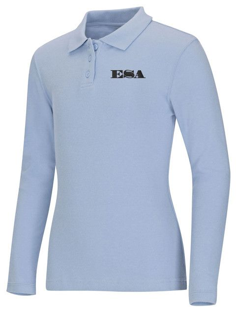 Junior LS Jersey Polo: ESA Letters