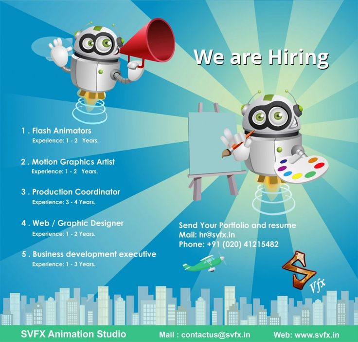 Animation Jobs In Pune India Svfx Animation Studio Animation Studio Animation Company Animation