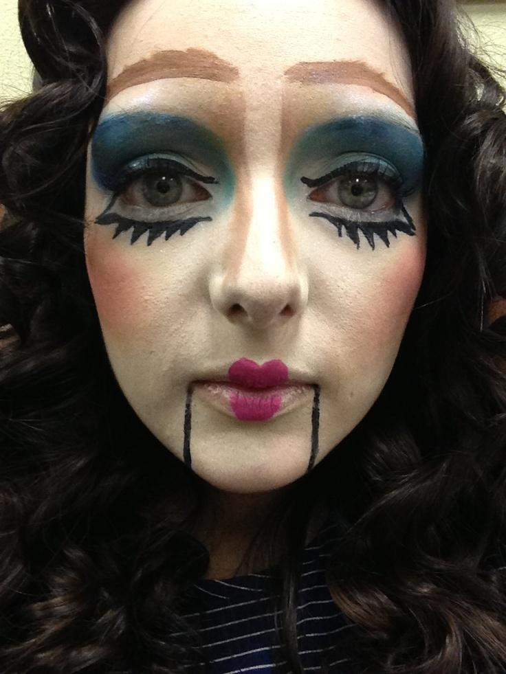 Puppet ventriloquist dummy face makeupVentriloquist Dummies Makeup